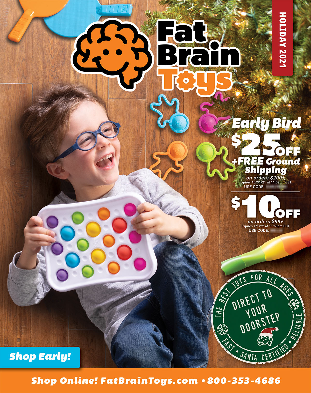 Christmas Toy Catalog 2020 Fat Brain Toys   Holiday Toy Catalog 2020   Page 1