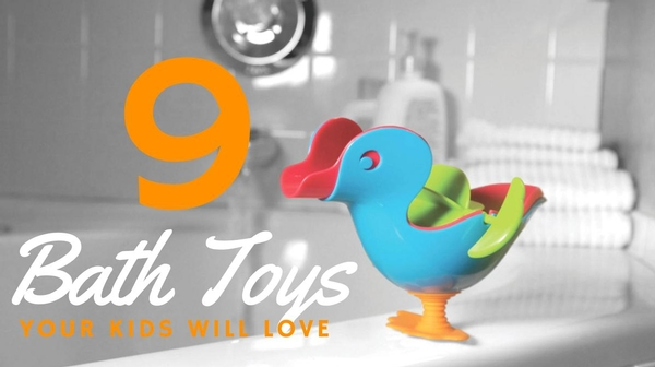 fdf780b6d4e Get the Most out of Bath Time with these 9 Unique Toys!