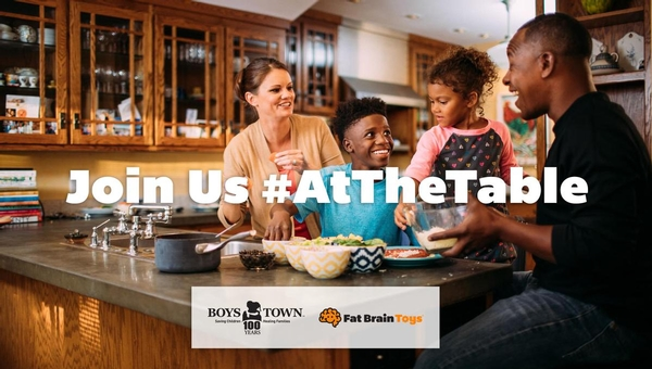 The week of March 20, Join us AtTheTable