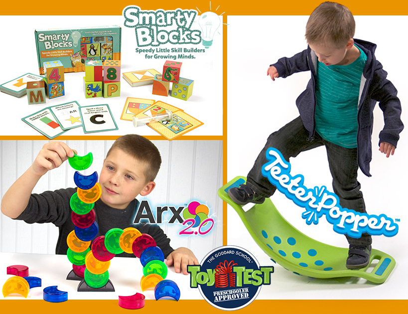 Three Fat Brain Toy Co Products Named Finalists in 2014 Goddard School Preschooler-Approved Toy Test