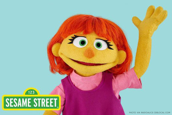Welcoming Julia onto the Cast of Sesame Street