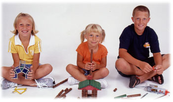 The kids of Fat Brain Toys