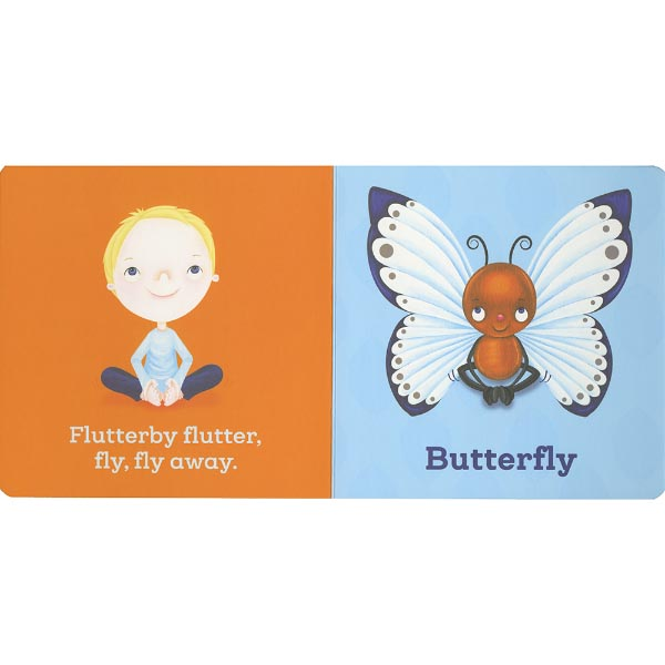 Simple Book Cover Yoga ~ Yoga bug simple poses for little ones