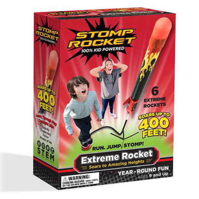 Stomp Rocket Extreme - Active Play for Ages 9 to 12 - Fat Brain Toys