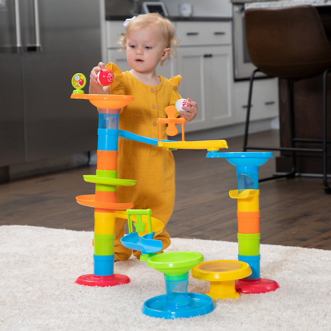 Marble Toys For Boys : Customer reviews of roll bounce tower by fat brain toys