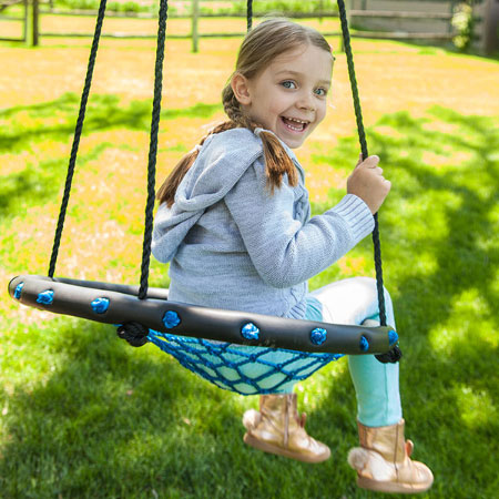 Swing-A-Ring - Small - Active Play for Ages 3 to 6 - Fat Brain Toys