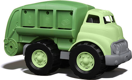 Green Toys Recycling Truck - Imaginative Play for Babies - Fat Brain Toys