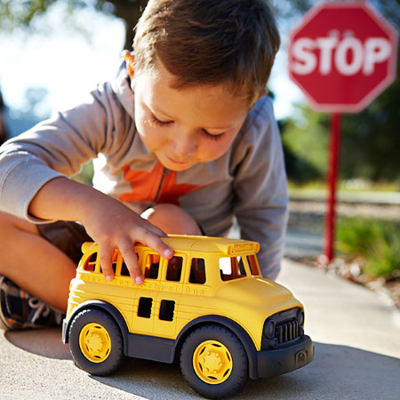 Green Toys School Bus - Baby Toys & Gifts for Babies - Fat Brain Toys