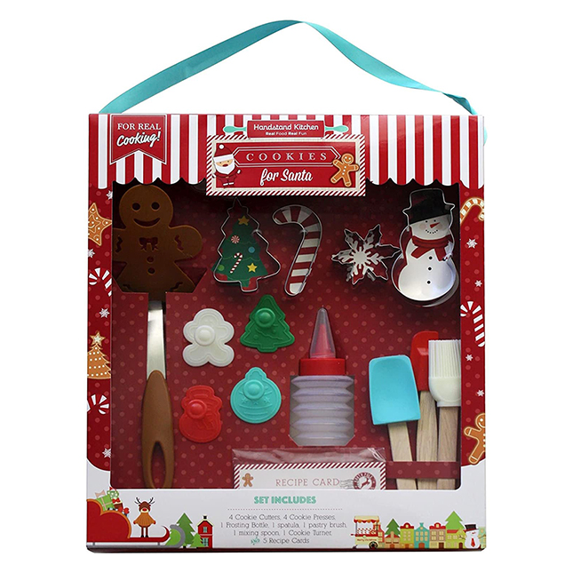Cookies for Santa Baking Set - Party Favors & Party Fun for Ages 6 to 12 - Fat Brain Toys
