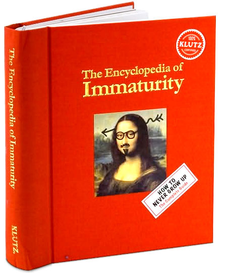 Customer Reviews Of Klutz The Encyclopedia Immaturity By