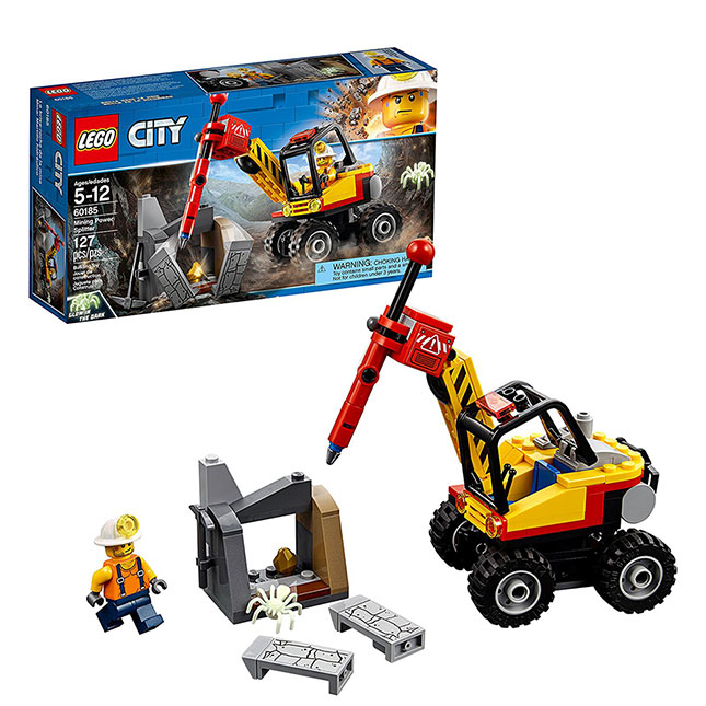 LEGO City Mining - Mining Power Splitter - Building & Construction For Ages 5 To 12 - Fat Brain Toys