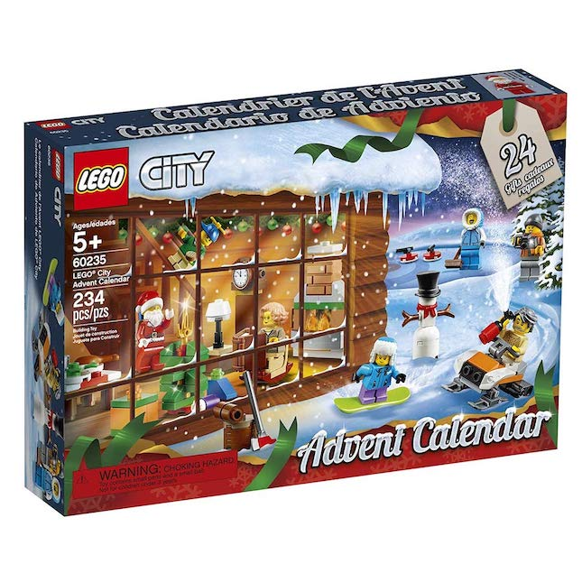 LEGO City Town - LEGO City Advent Calendar - Building & Construction for Ages 5 to 10 - Fat Brain Toys