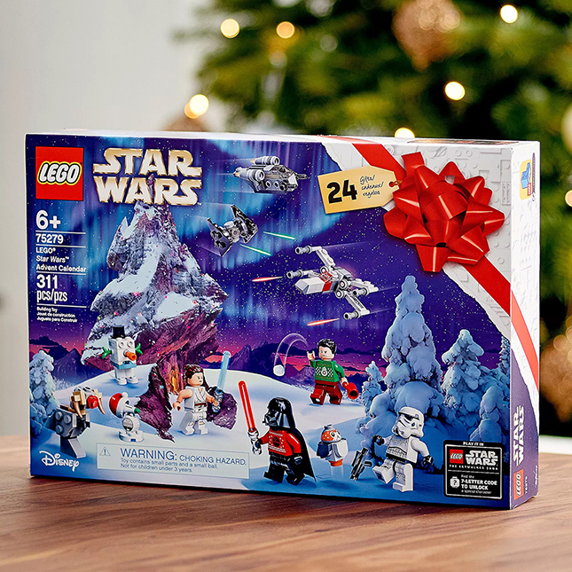 LEGO Star Wars Advent Calendar - Building & Construction for Ages 6 to 11 - Fat Brain Toys