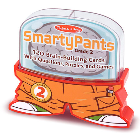 Smarty Pants - 2nd Grade Card Set - Books For Ages 6 To 8 - Fat Brain Toys