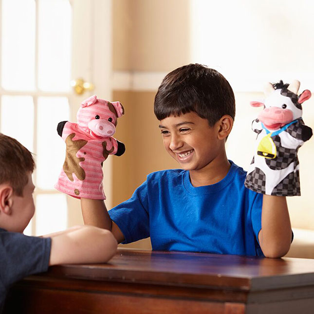 Customer Reviews Of Farm Friends Hand Puppets By Melissa