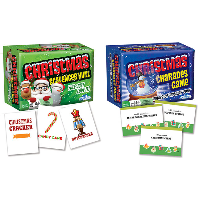 Christmas Games - 2 pack - Games for Ages 6 to 12 - Fat Brain Toys