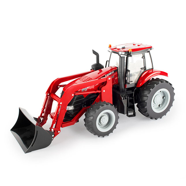 1/16 Big Farm Case IH Magnum 380CVT Tractor with Front Loader -  - Fat Brain Toys