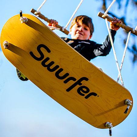 The Swurfer - Active Play for Ages 6 to 11 - Fat Brain Toys