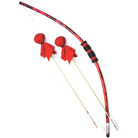 Dragon Bow & Arrows Set with Bulls Eye - Active Play for Ages 6 to 7 - Fat Brain Toys
