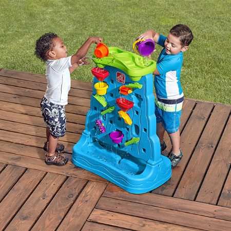 Waterfall Discovery Wall - Outdoor Toys for Ages 2 to 3 - Fat Brain Toys