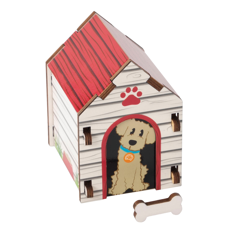 Build It Blueprint Puzzles - Dog House - Building & Construction for Ages 4 to 5 - Fat Brain Toys